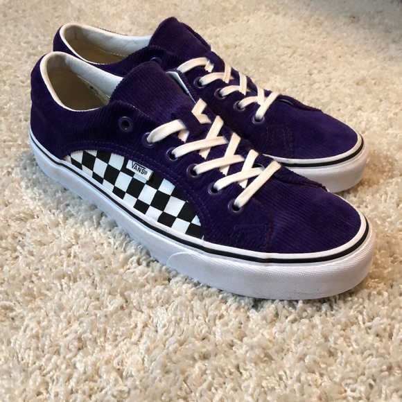 402a869d05 ULTRA RARE Vans Lampin Purple Corduroy checkered. M 5c491d17a31c338cbc70994d
